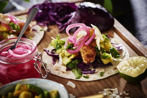 CocoVi Fish tacos