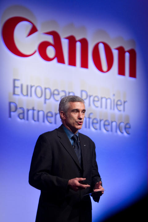 Hubert Bro, Business Strategy Director, Canon Europa