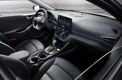 Interiøret i nye Hyundai IONIQ. Foto: Hyundai