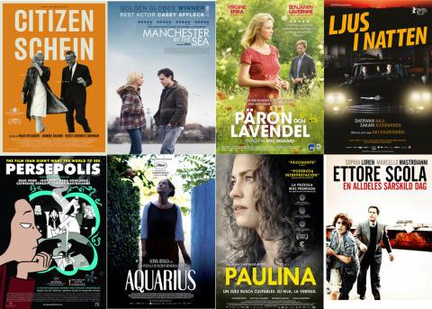 Höstterminens filmprogram för Lindesbergs Filmstudio