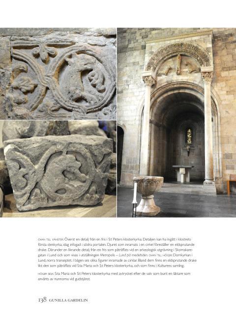 Kyrkornas Lund – sidan 138, arkitektoniska detaljer