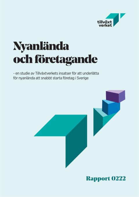 Rapport - Nyanlända och företagande