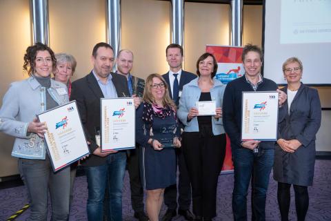 Gesunde Unternehmen – Challenge 2018: Senatorin Quante-Brandt ehrt Sieger