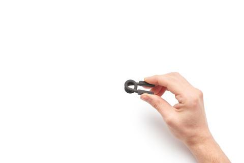 Eksempel på 3D komponenter skrevet ut fra en HP Jet Fusion 3D -skriver 4
