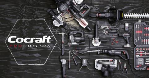 Clas Ohlsonille uusi työkalusarja: Cocraft Pro Edition − vaativan kodinkunnostajan valinta