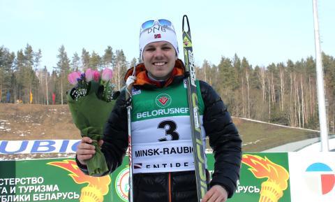 Mattis Haug jaktstart jr-vm, Minsk