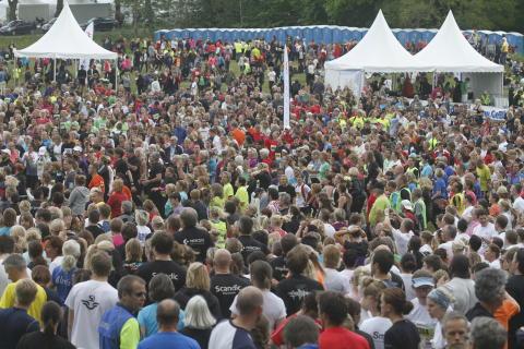 Blodomloppet Stockholm Djurgården juni 2012