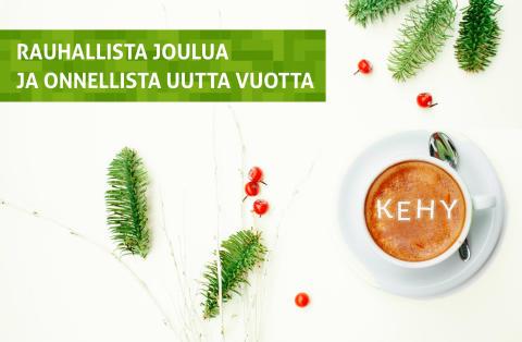 Rauhallista joulua ja onnellista uutta vuotta 2018!