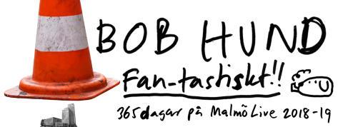 Fan-tastiskt!! 2018 blir ett Bob Hund-år.