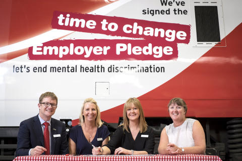 It's time to change: Virgin Trains joins fight to encourage people to talk about mental health issues