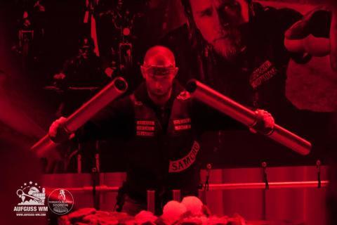 Saunaaufguss-Weltmeiser Rob Keijzer zu Gast in den DolceVita Hotels