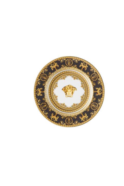 RmV_I love Baroque_Nero_Plate 18 cm