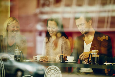 Trendigt presskaffe går hem hos unga