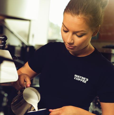 Barista waynes coffee