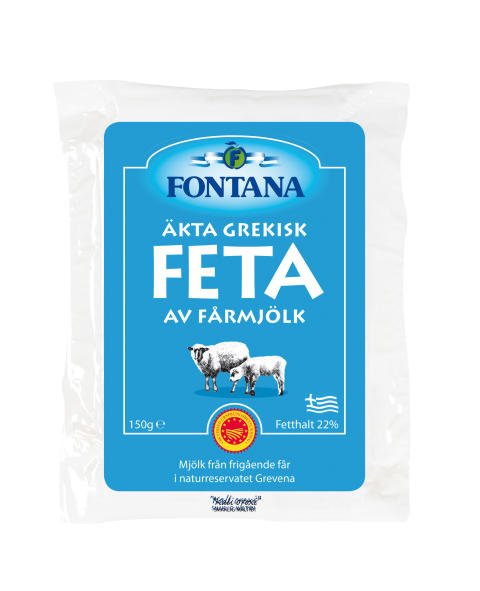 Fontana Feta 100% fårmjölk