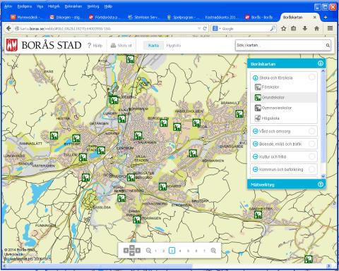 Pressinbjudan: Borås Stad visar interaktiv karttjänst