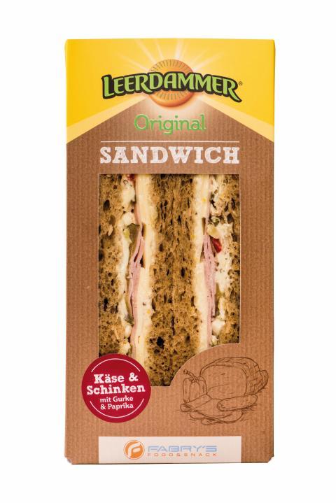 Sandwich Leerdammer® Original & Schinken