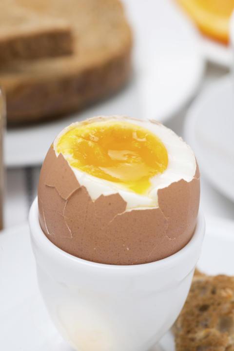 Ägg innehåller en effektivare form av D-vitamin