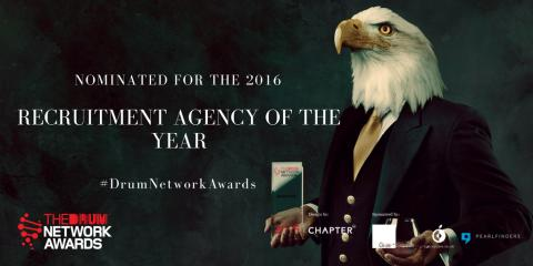 Finegreen shortlisted as finalists for Recruitment  Agency of the Year at the Drum Network Awards 2016!
