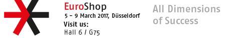 Swedbrand @EuroShop Exhibition - Germany - March 5th until 9th