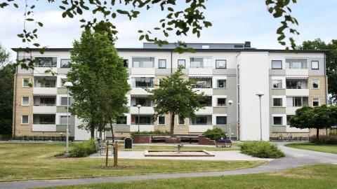 Ombyggnad gav miljöcertifiering till 60-tals hyresrätter i Skarpan, Linköping