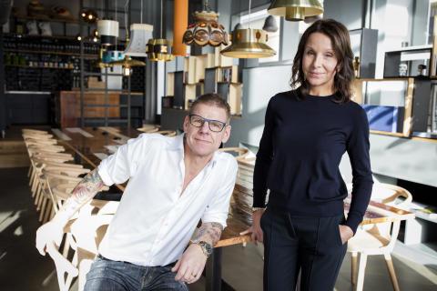 Daniel och Carina Högberg.