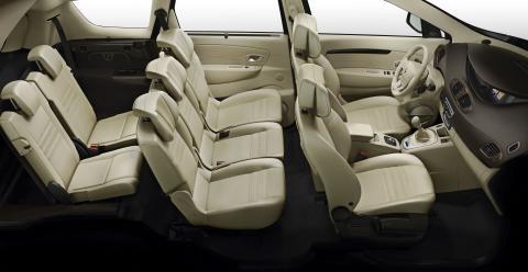 Med plads til syv i kabinen er Renault Grand Scenic børnefamiliens bedste ven