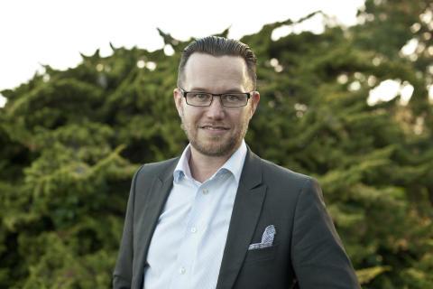 Marcus Åkerlind, delägare i Högberga Gård