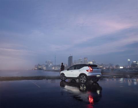 Premiär för Volvo Cars nya kampanj om XC40 på TV4 ikväll