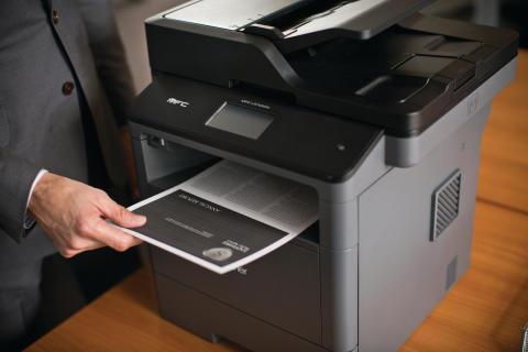 Brotherin L5000-sarjan mustavalkolasertulostimet toimivat langattomasti