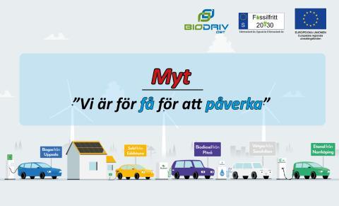 YES! Sverige leder i andelen förnybara drivmedel