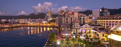 Mauritius_Caudan Waterfront Abendstimmung©MTPA_Bamba