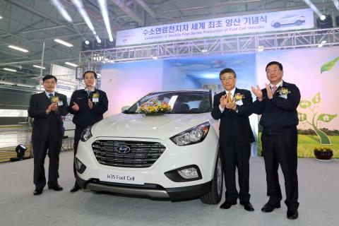 Hyundai ix35 FCEV – världens första serieproducerade bränslecellsbil
