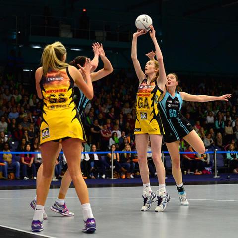 Netballer Helen Housby named SportsAid athlete of the month