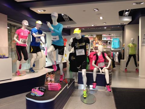 ASICS Flagship Store drar igång marathonförsäljning