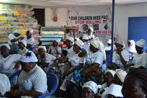 Förbjudet slå sin fru i Liberia