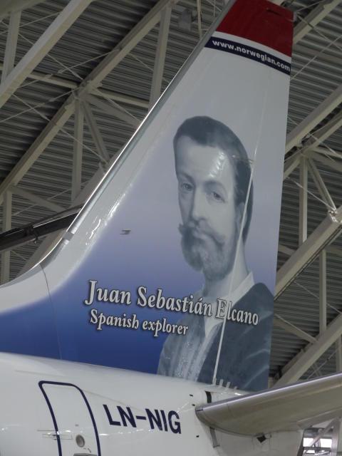 Juan Sebastián Elcano, Norwegianin sankari