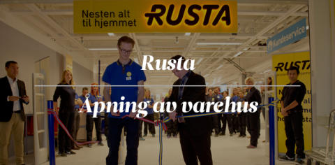 Rusta: Norgeslansering