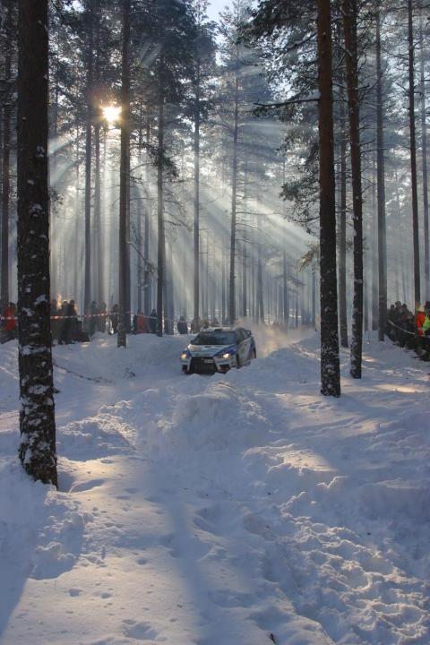 JockeNyman SS10 Rally Sweden 2011