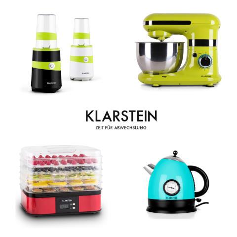 Bunte Küche im Herbst mit Geräten von Klarstein - Limone, Türkis, Rot, einfach farbenfroh