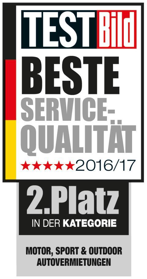 Buchbinder Rent-a-Car mit dem 2. Platz im Bereich Autovermietung ausgezeichnet