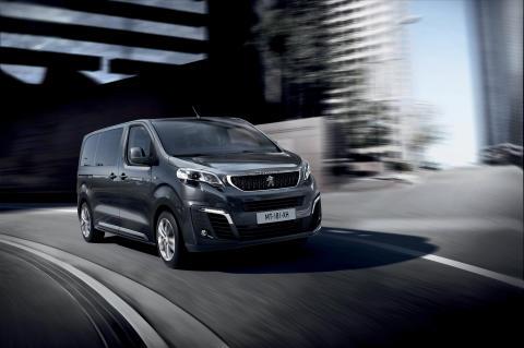 Nya Peugeot Traveller bjuder på en lyxig resa