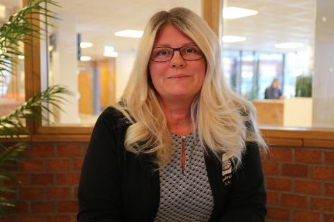 Marie Nilsson, lärare på handels- och administrationsprogrammet