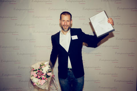 Årets Grundare Väst 2014 – Stefan Palm grundare av Lager 157