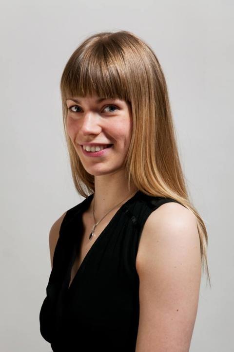 Julia Reinikainen, pianist och masterstudent vid Kungl. Musikhögskolan