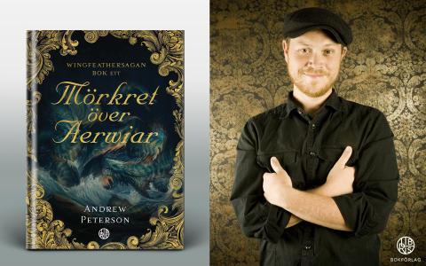 Sverigebesök av bokaktuelle fantasyförfattaren Andrew Peterson