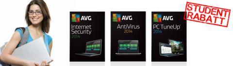 WebbPlatsen erbjuder studentrabatt på antivirusprodukter från AVG