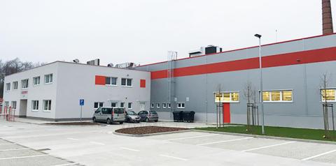 Hypermodern produktion i Slovakien möter framtidens behov