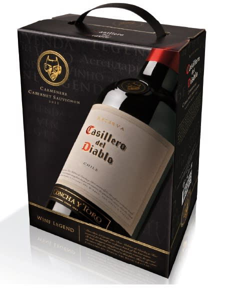 rött vin box