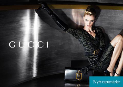 Exklusiva modeföretaget Gucci hos RoyalDesign.se